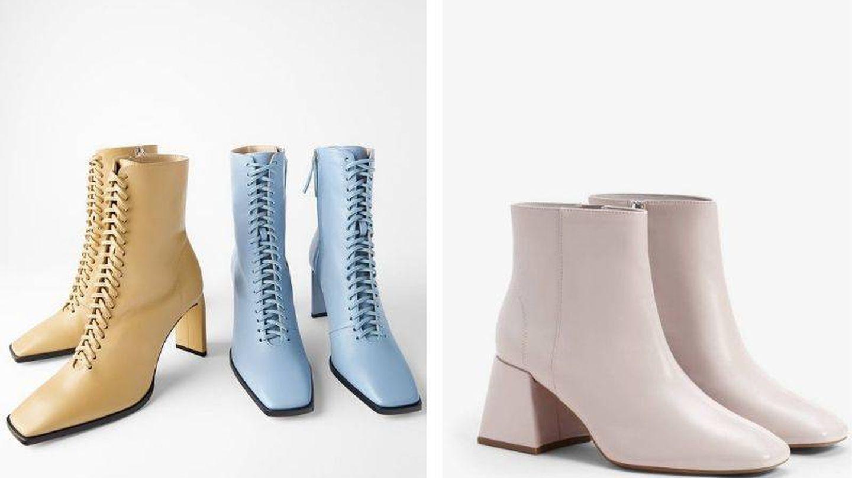 Elegantes ideales para las que prefieren colores más claros en otoño. (Cortesía)