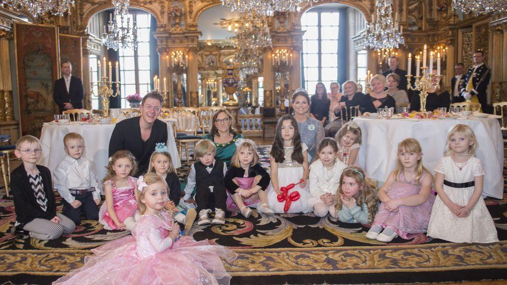Magdalena y Leonore organizan una fiesta de princesas para niños enfermos