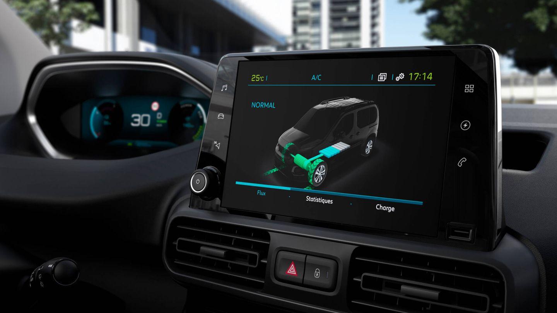 Los seis nuevos modelos cuentan con un interior personalizado, y adaptado al funcionamiento eléctrico y la gestión de batería y recarga.