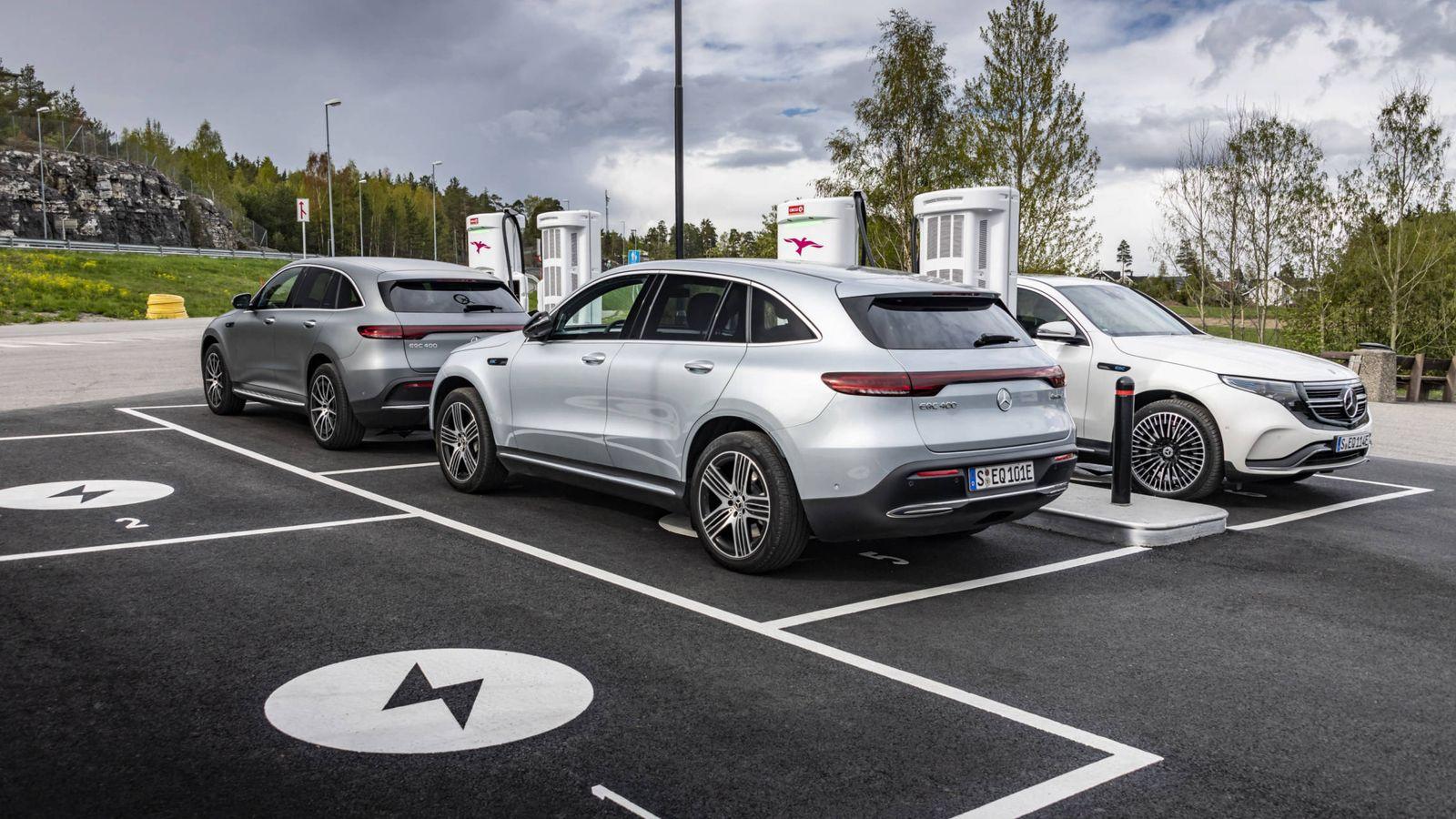 Foto: La mejor infraestructura de recarga en Europa está en Noruega, el paraíso para el coche eléctrico.