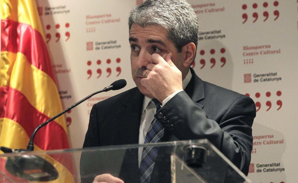 El conseller de Presidencia y portavoz del Gobierno catalán, Francesc Homs. (EFE)