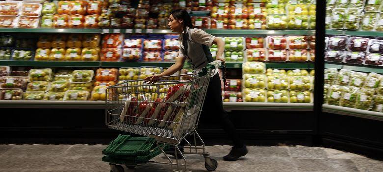 Foto: Los precios caen en octubre por primera vez desde la gran recesión de 2009