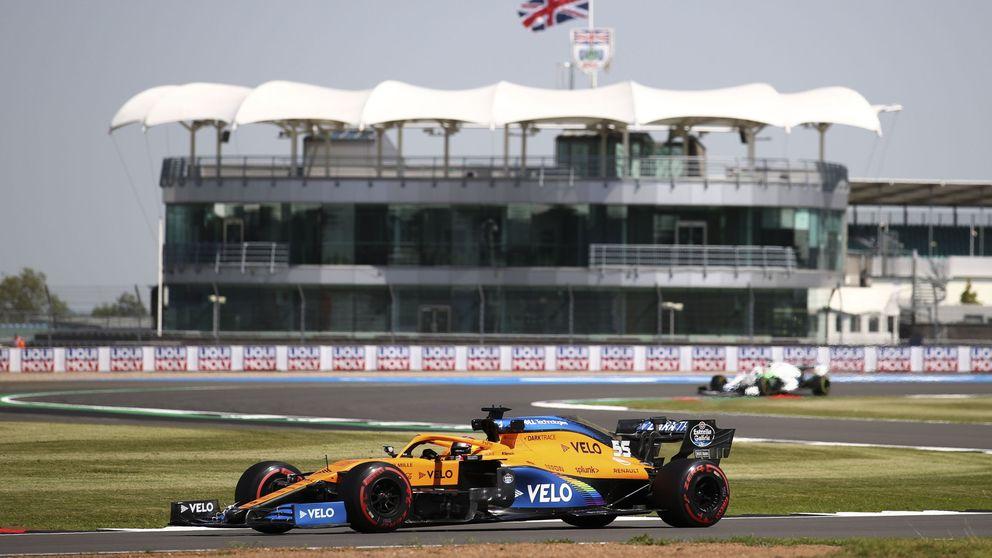 Libres 2: Carlos Sainz deja una buena imagen en una sesión dominada por Lance Stroll