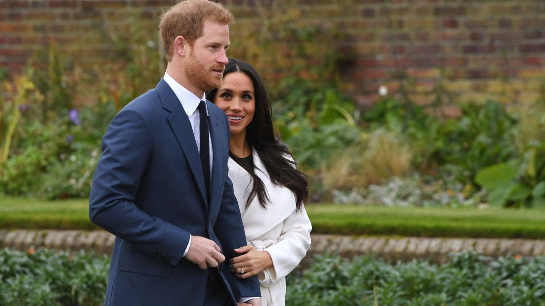 El príncipe Harry y su prometida. (Efe)