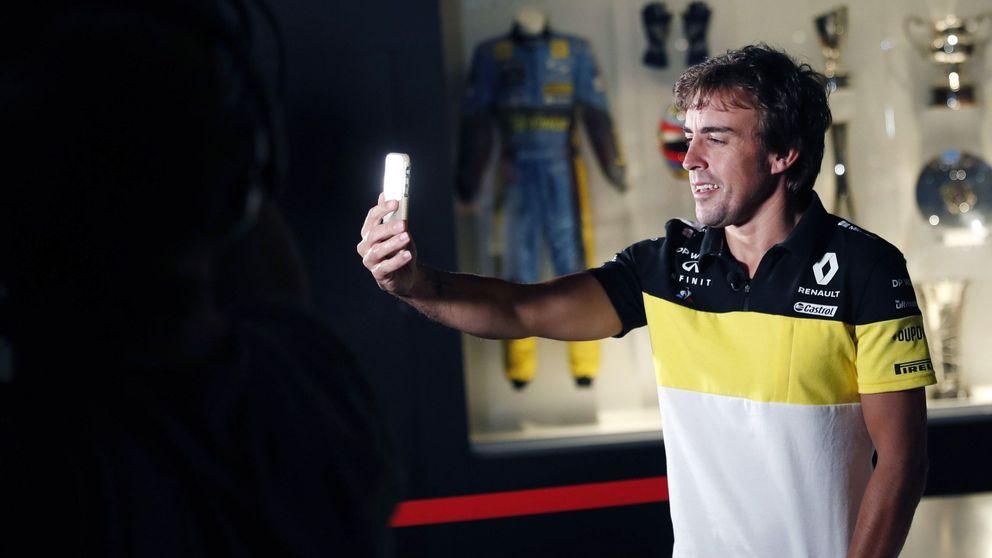 Fernando Alonso y Renault, matrimonio de conveniencia... y arriesgada apuesta común