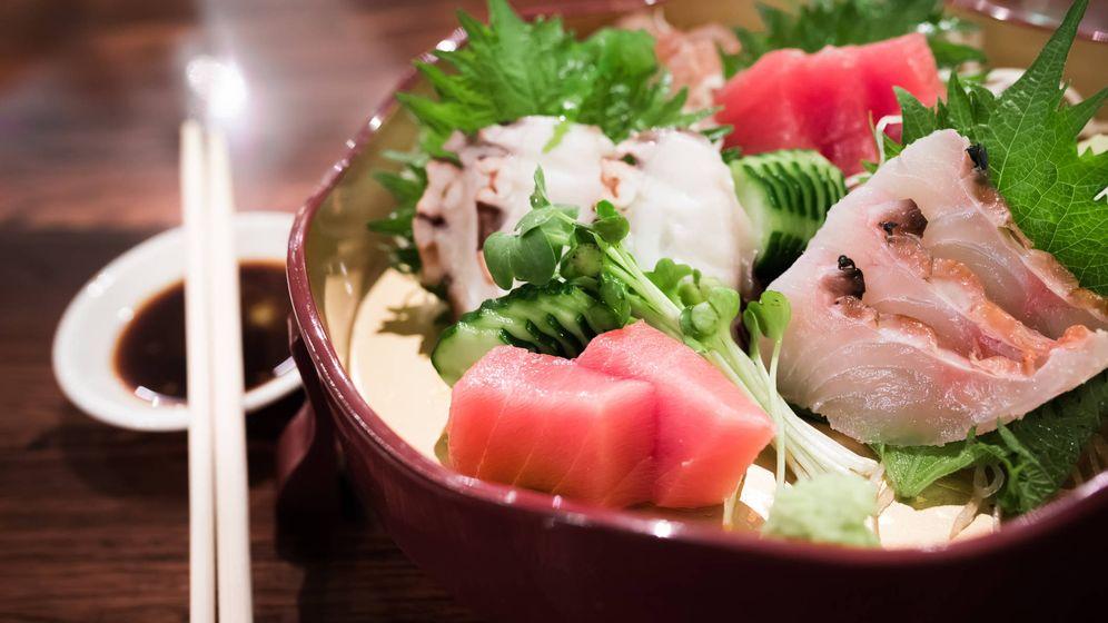Foto: Plato japonés de pescado. (iStock)