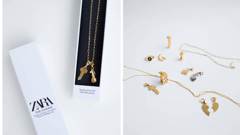 Nuevo collar de Zara. (Cortesía)