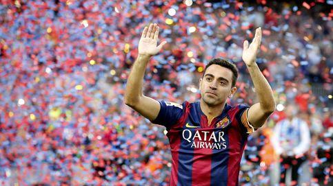 No sé nada, vengo de vacaciones: Xavi aparece en Barcelona con 22 maletas
