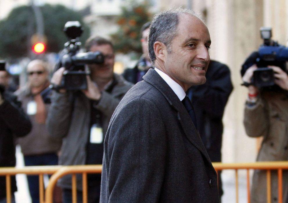 Foto: El expresident de la Generalitat, Francisco Camps (Efe)