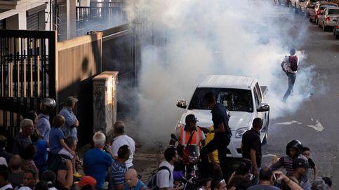 Venezuela sale a la calle por la falta de luz y agua entre disparos y lanzamiento de gases