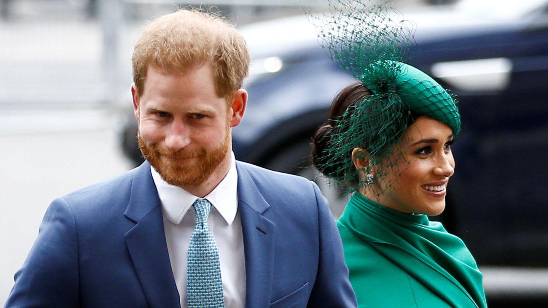 Harry y Meghan, en uno de sus últimos compromisos oficiales. (Reuters)