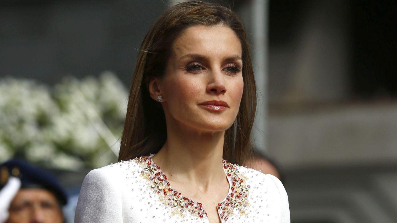 Foto: La Reina el día de la proclamación (Gtres)