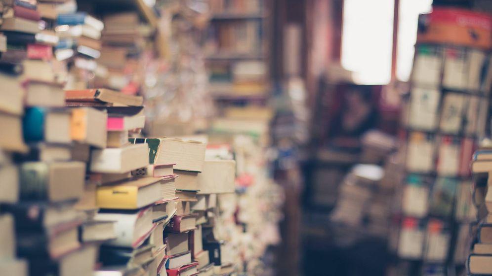 Foto: Pilas de libros