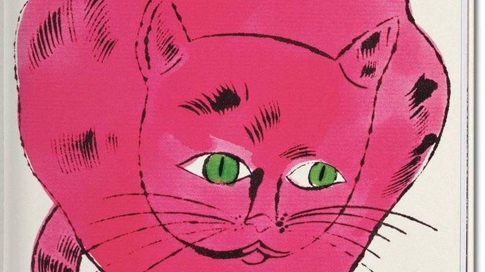 Gatos de color rosa chillón: la faceta más desconocida de Warhol