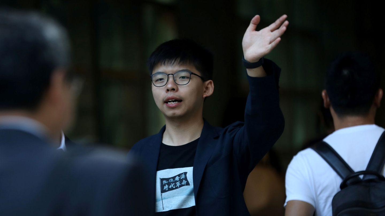 El activista Joshua Wong (EFE)