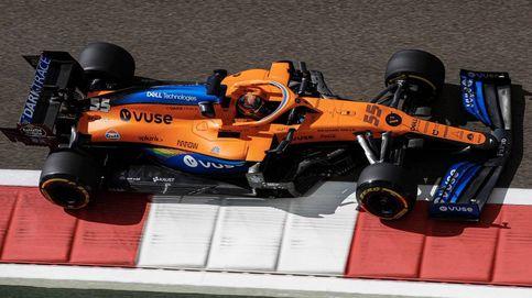 Siete coches en dos décimas: Carlos Sainz y Lando Norris, a cara de perro por McLaren