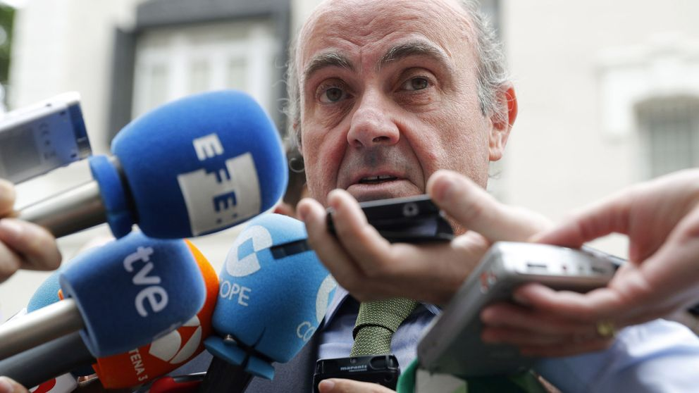 De Guindos: El sentido común dice que no va a haber multa para España