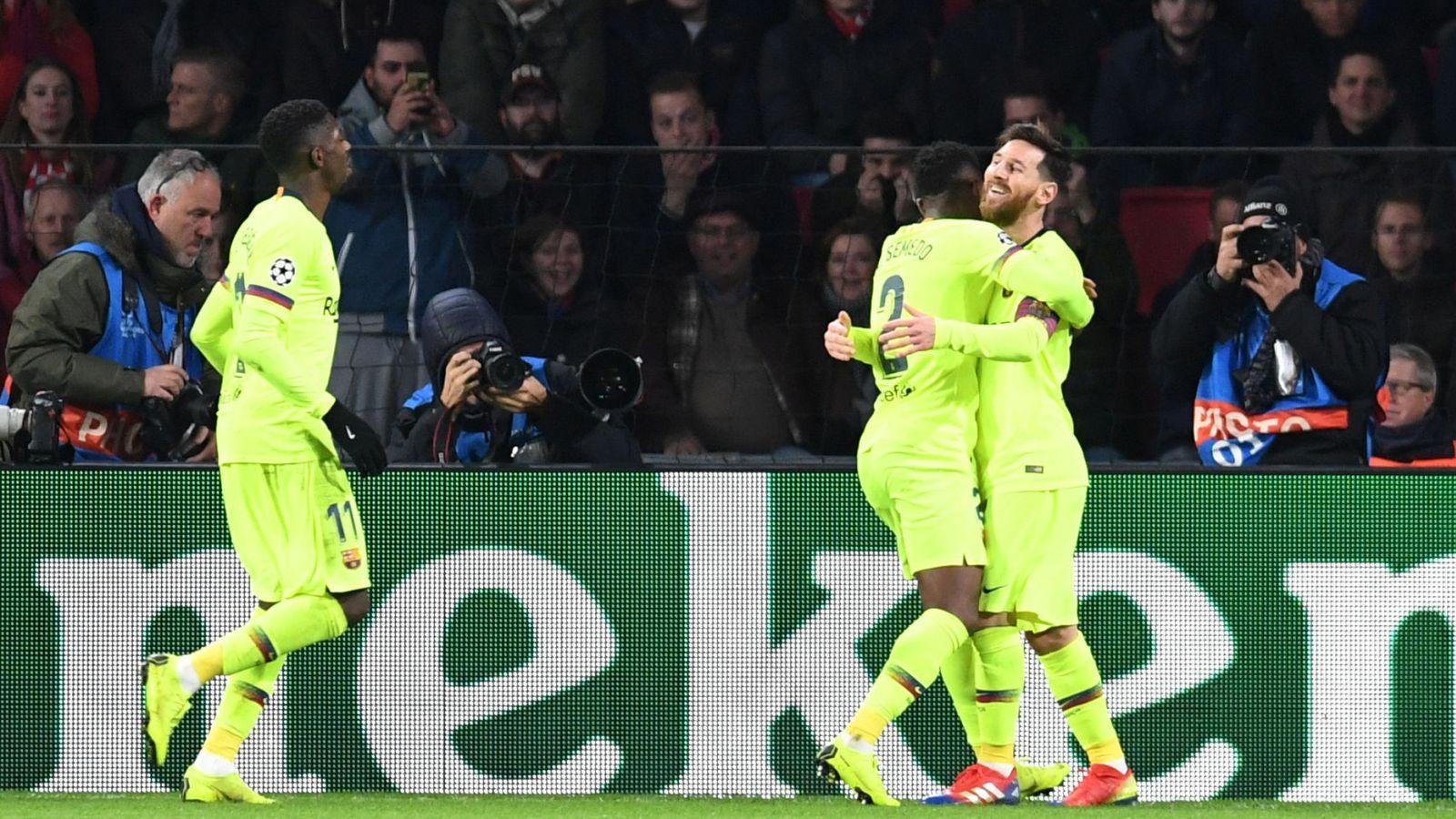 elige el más nuevo mejor lugar para descubre las últimas tendencias PSV - FC Barcelona en directo: resumen, goles y resultado ...