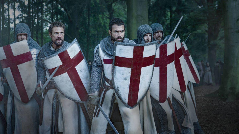 Imagen de la serie sobre los Caballeros Templarios, 'Knightfall'. (HBO)