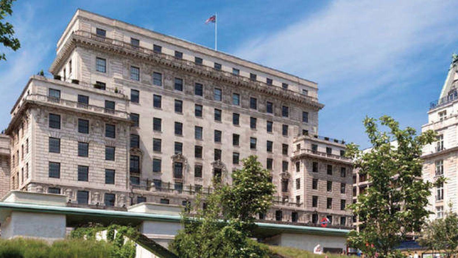 Foto: Pontegadea desembolsó 320 millones de euros por hacerse con Devonshire House.