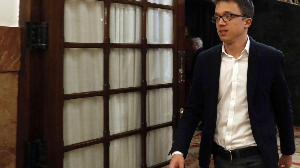 Foto: Iñigo Errejón, en una imagen de archivo en el Congreso. (EFE)