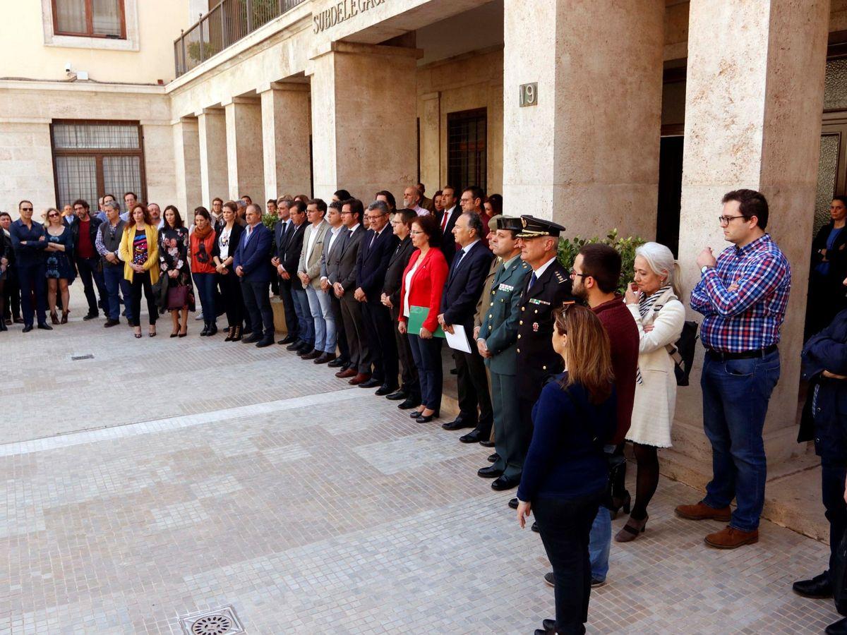 Foto: Condena unánime al parricidio machista de Balerma, el Ejido (Almería) en abril de 2018. (EFE)