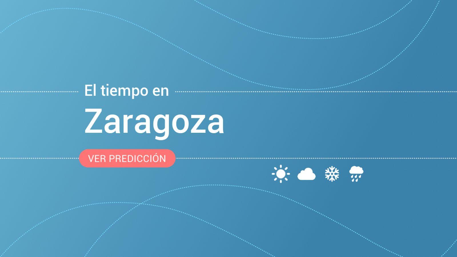Foto: El tiempo en Zaragoza. (EC)