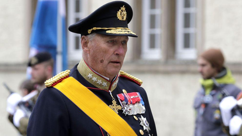 Última hora: el rey Harald, de baja por un virus y sustituido por el príncipe Haakon