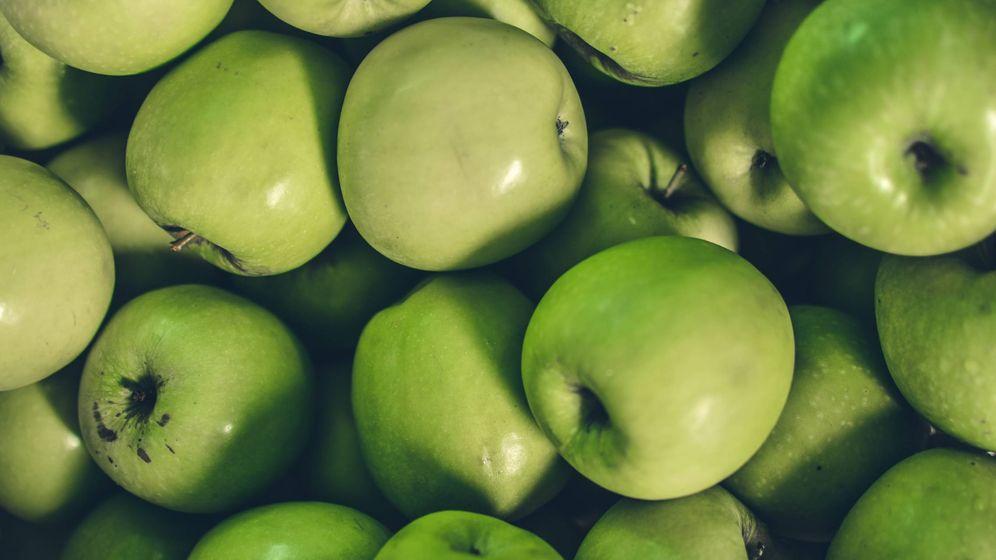 Foto: Manzanas verdes. (Unsplash)