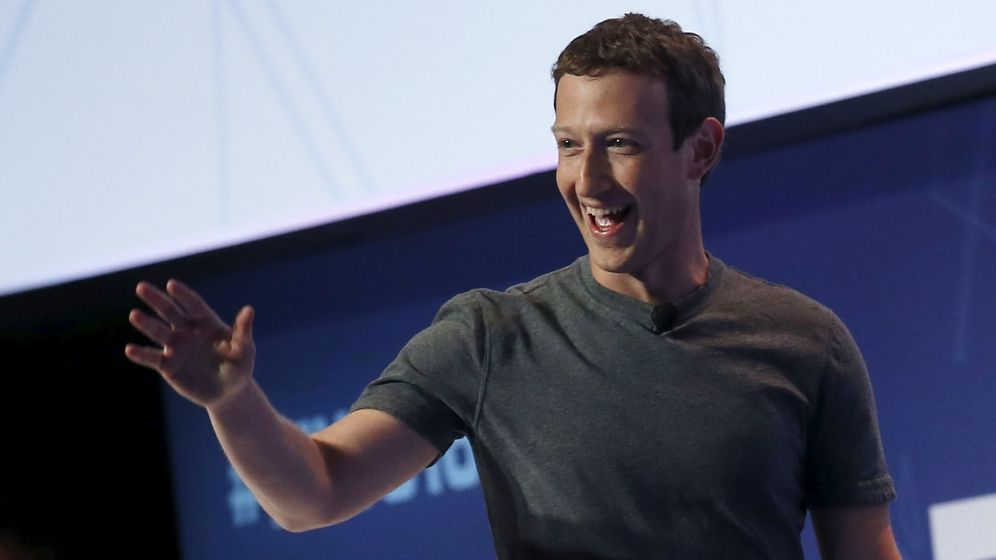Foto: Mark Zuckerberg en su intervención esta tarde en el Mobile World Congress. (Foto: Reuters)