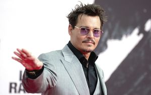 Johnny Depp se retira del cine por su grave problema de alcoholismo