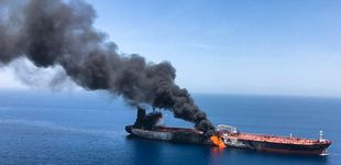 Post de El ataque a dos cargueros en el estrecho de Ormuz dispara la tensión en la zona
