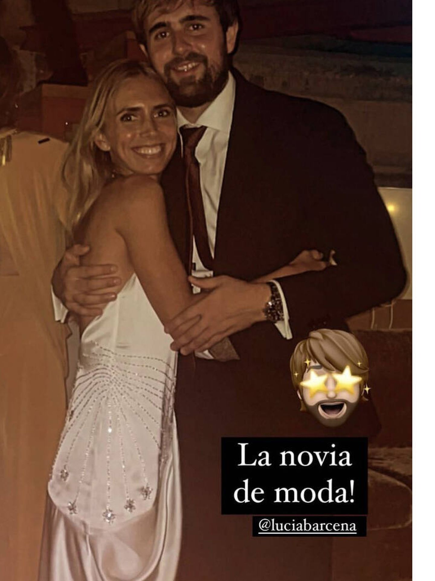 El segundo look de Lucía Bárcena. (Imagen: Instagram)