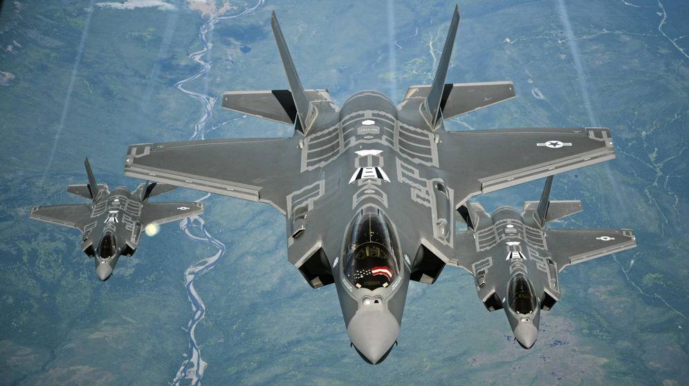 Foto: El F-35 es hoy en día el avión tecnológicamente más avanzado en cuanto a integración de sistemas. (Foto USAF)