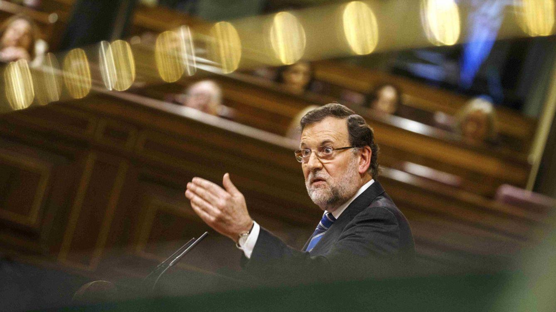 Foto: Mariano Rajoy, durante el debate del estado de la nación. (Reuters)