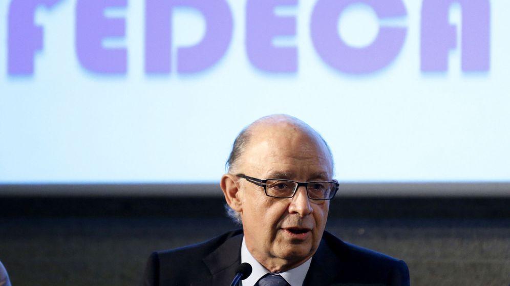 Foto: El ministro de Hacienda y Función Pública Cristóbal Montoro. (EFE)