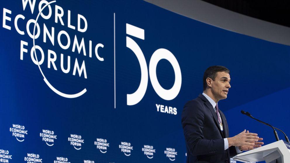Sánchez pide en Davos una nueva era que supere el fracaso del neoliberalismo