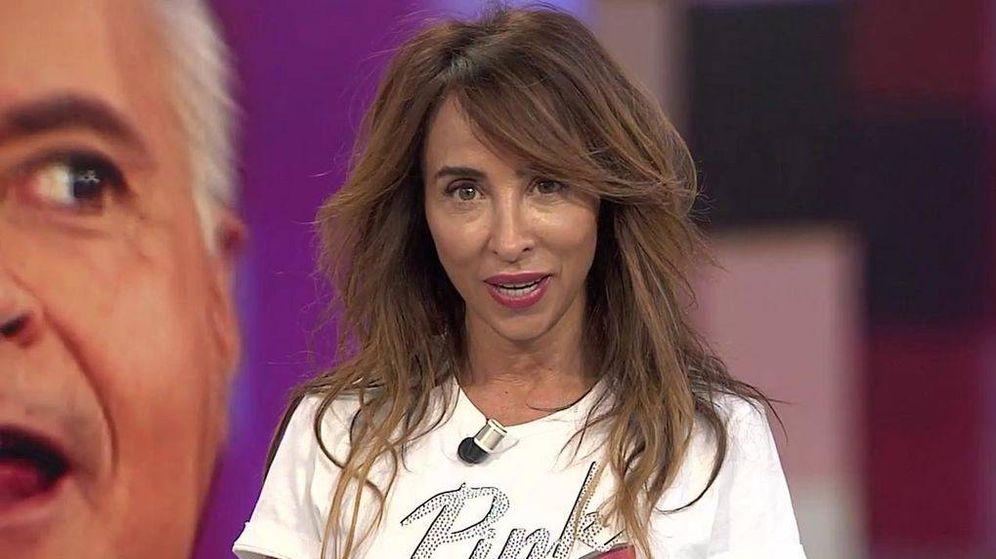 Foto: María Patiño, presentadora de 'Socialité'. (Mediqaset)
