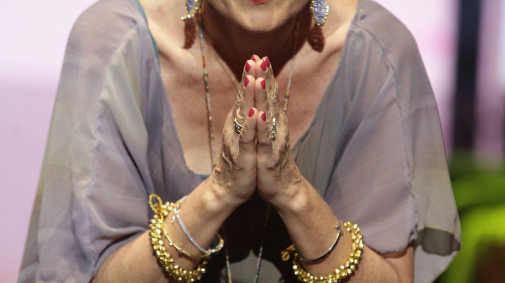 Foto: Rosa Benito en una imagen de archivo. (Gtres)