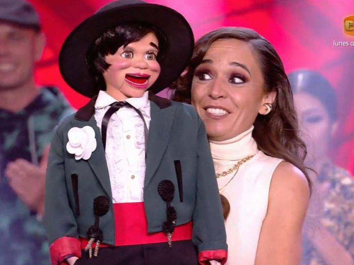Foto: Celia Muñoz Segura, ganadora de 'Got Talent'. (Mediaset España)