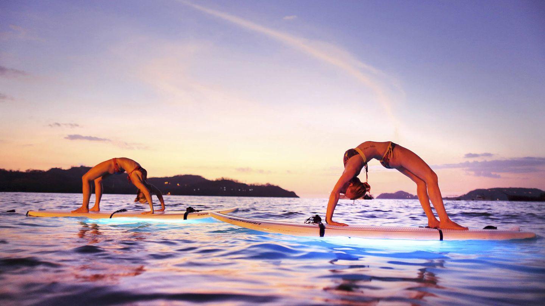 Yoga en Costa Rica.