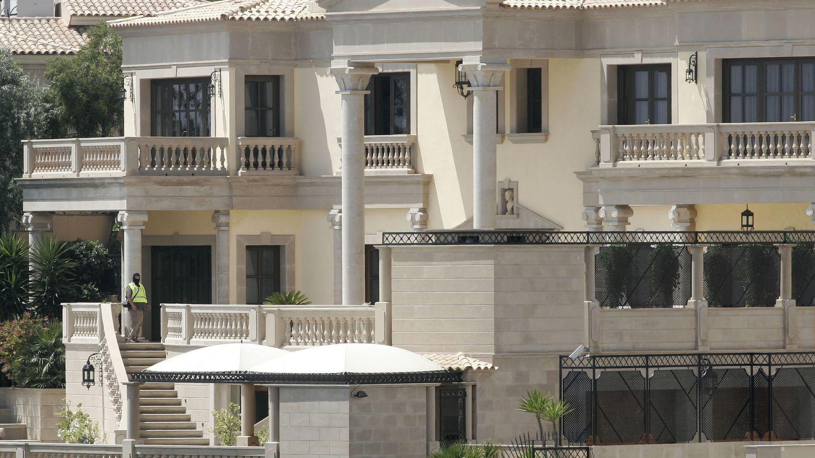 Foto: Residencia confiscada durante una operación contra la mafia rusa en Marbella. (Reuters)