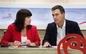 La presidenta del PSOE: No podemos pedir siempre perdón