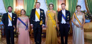 Post de Máxima de Holanda deslumbra con su tiara en la cena con los duques de Luxemburgo
