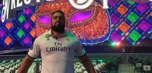 Post de Rusev, el luchador de la WWE que la lía con la camiseta del Madrid en Liverpool