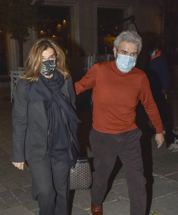 Foto: Xandra Falcó, junto a Lorenzo Caprile. (CP)