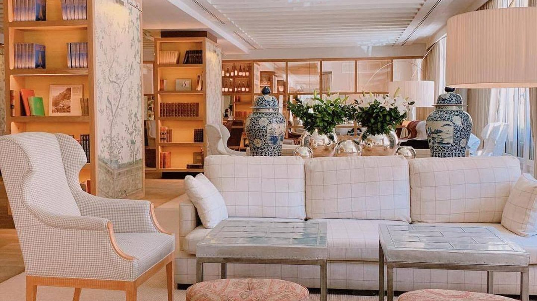 Lobby del Urso Hotel & Spa. (Cortesía)
