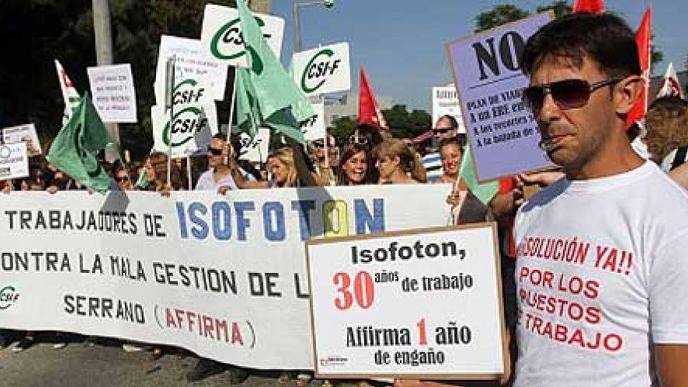 Isofotón pierde 200 empleos y 50 millones en Málaga por la parálisis de la Junta