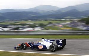 Canamasas, otro año en la GP2 para dejar los infortunios y subir al podio