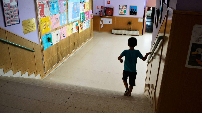 Cerca de 700 alumnos estudian en este colegio, que cuenta con tres grupos por curso. (M. Z.)